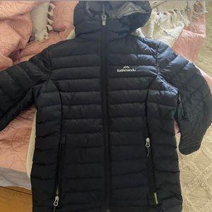 Black Kathmandu. Light weight puffer jacket 💚